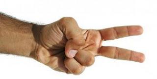 a mão dois