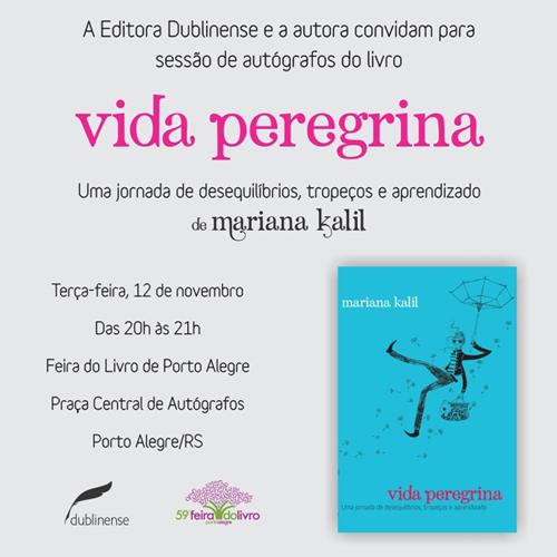 convite feira do livro