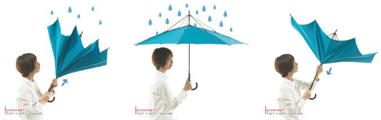 H COncept Hiroshi Kajimoto Unbrella Umbrella - Hot To Use It