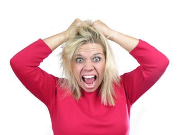 arrancando os cabelos