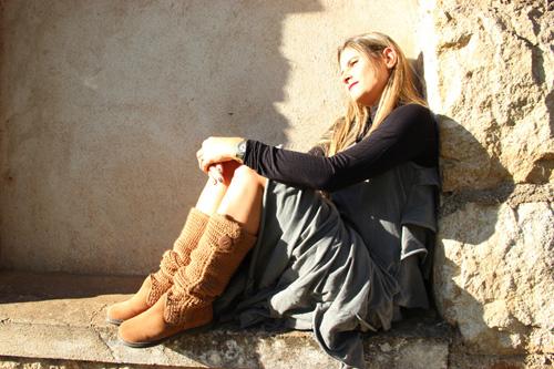 22467aa4b Perna quentinha com Andreia Nunes no pé – MK