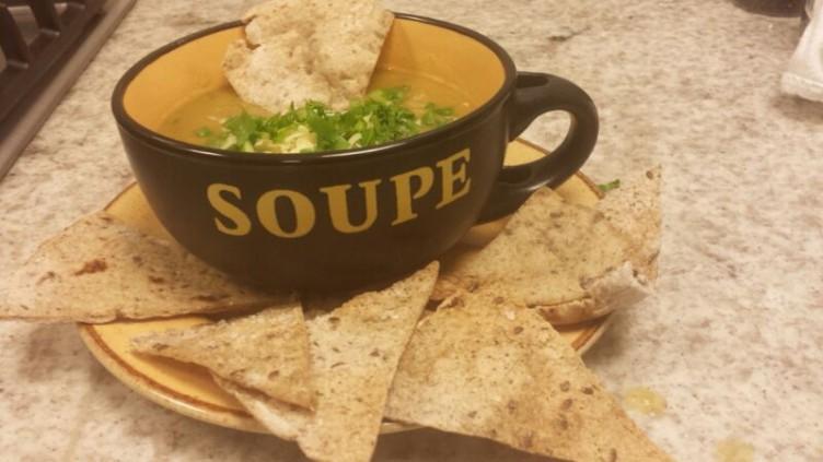 sopa na cumbuca