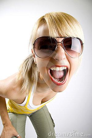 casual-woman-screaming-thumb95387452