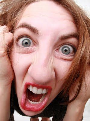 mulher com raiva