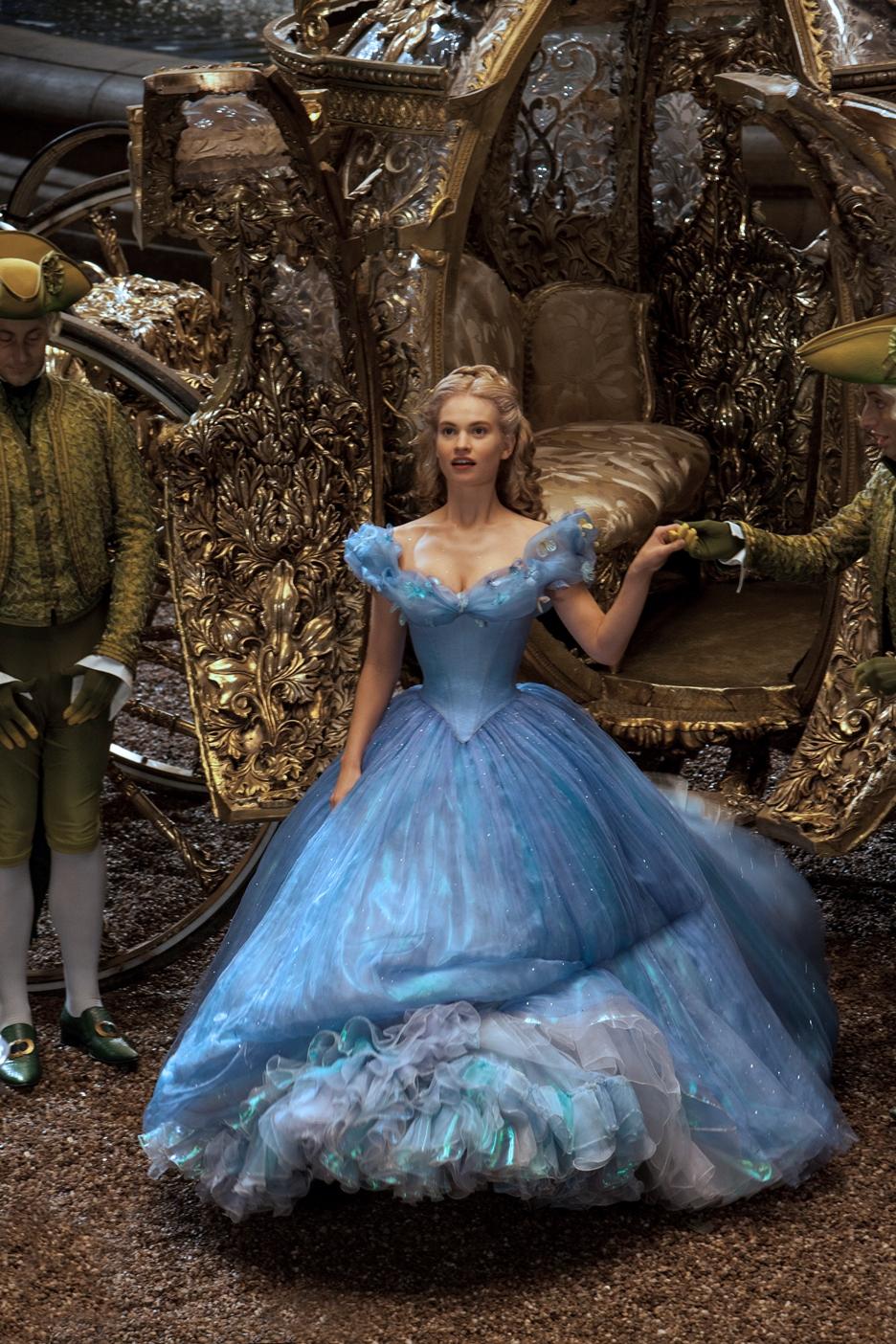 vestido baile Cinderela