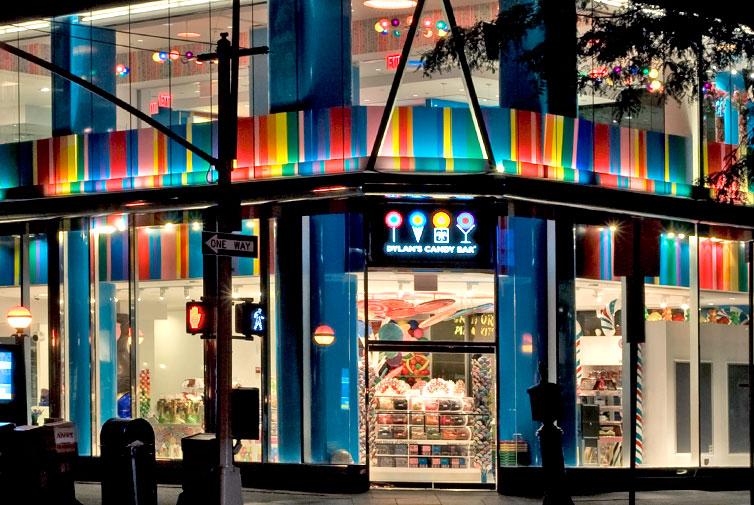 NY loja na terceira avenida