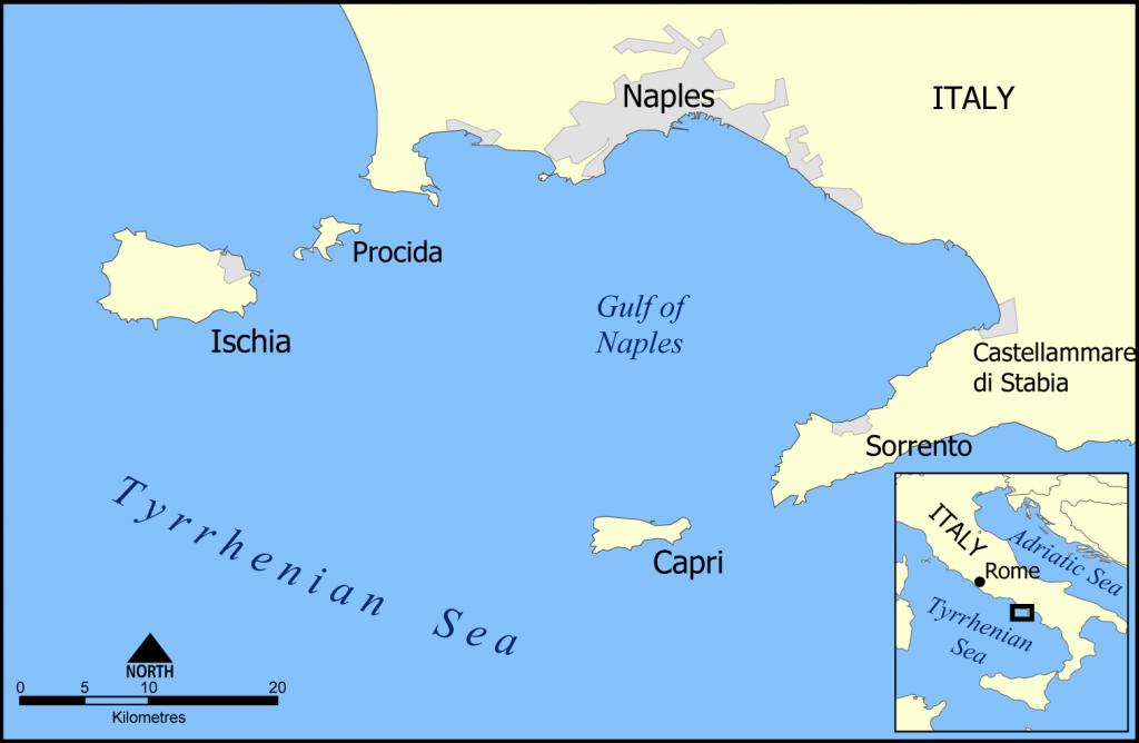 CAPRI9 mapa-golfo-de-napoles