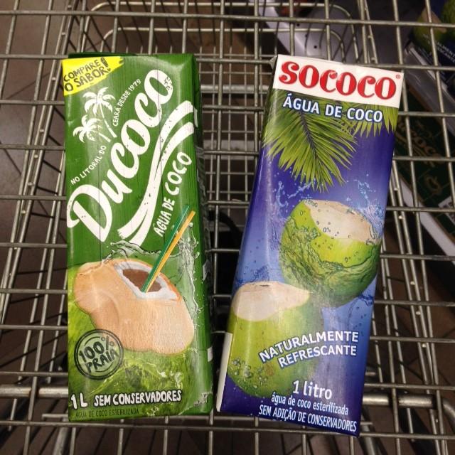 zaffari agua de coco