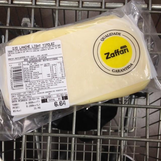 zaffari queijo
