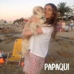 Amigas na puesta del sol em Punta