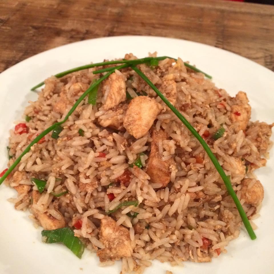 chola arroz chaufa