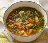 Alton Brown's Garden Vegetable Soup as seen on Food Network