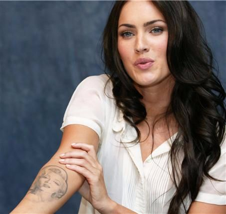 Monroe-Megan-Fox-tattoo