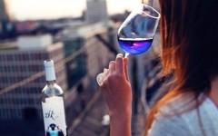 Blue wine, Gik