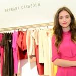 Barbara Casasola em sua loja em Londres