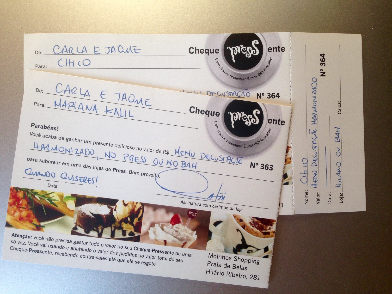 cheque bah