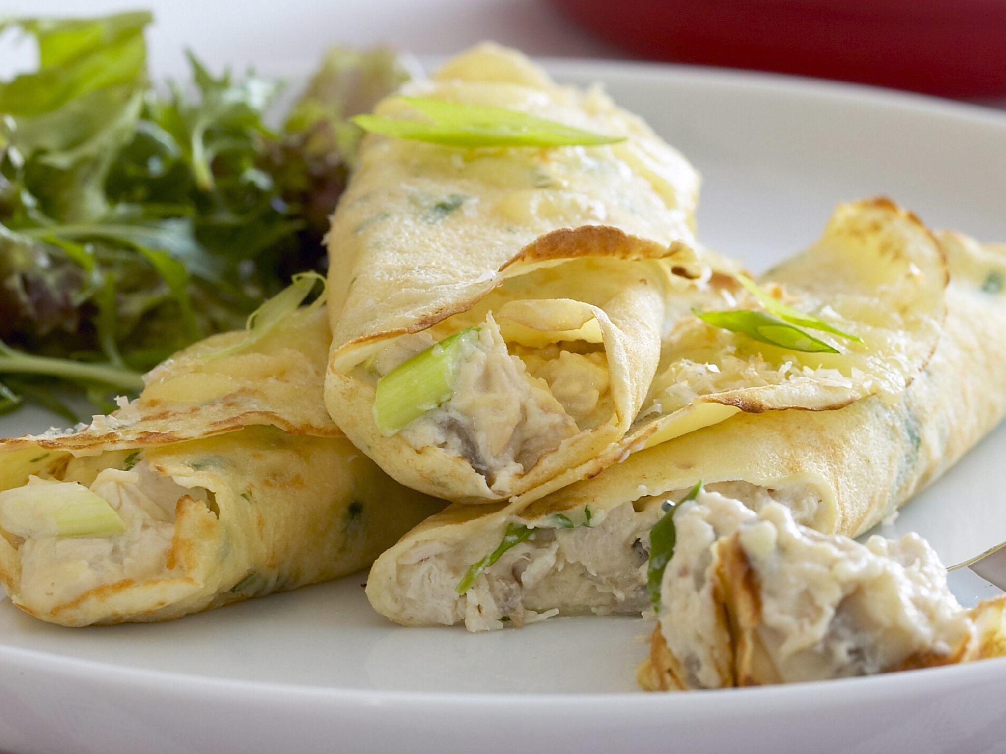 Woman's Day - Everyday Food - Chicken Crepes