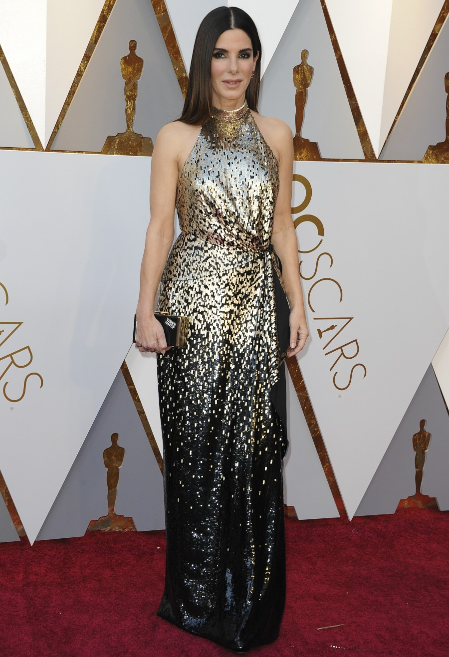 90th Academy Awards (Oscars) held at the Dolby Theater - Arrivals Featuring: Sandra Bullock Where: Los Angeles, California, United States When: 04 Mar 2018 Credit: Apega/WENN.com