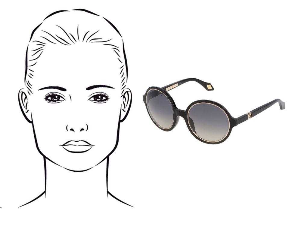 e3420a4357f2d O modelo de óculos de sol ideal para o seu formato de rosto  AMIGA ...