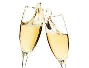 champagne-glazen
