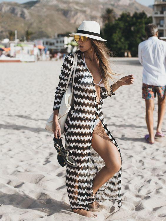 Vestido como saída de praia