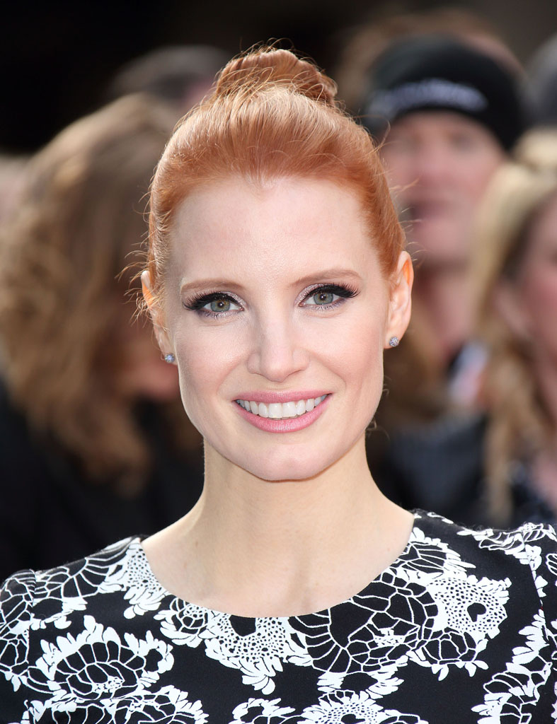 LONDON, ENGLAND - MARCH 29: Jessica Chastain attends the Jameson Empire Awards 2015 at Grosvenor House, on March 29, 2015 in London, England. (Photo by Mike Marsland/WireImage)