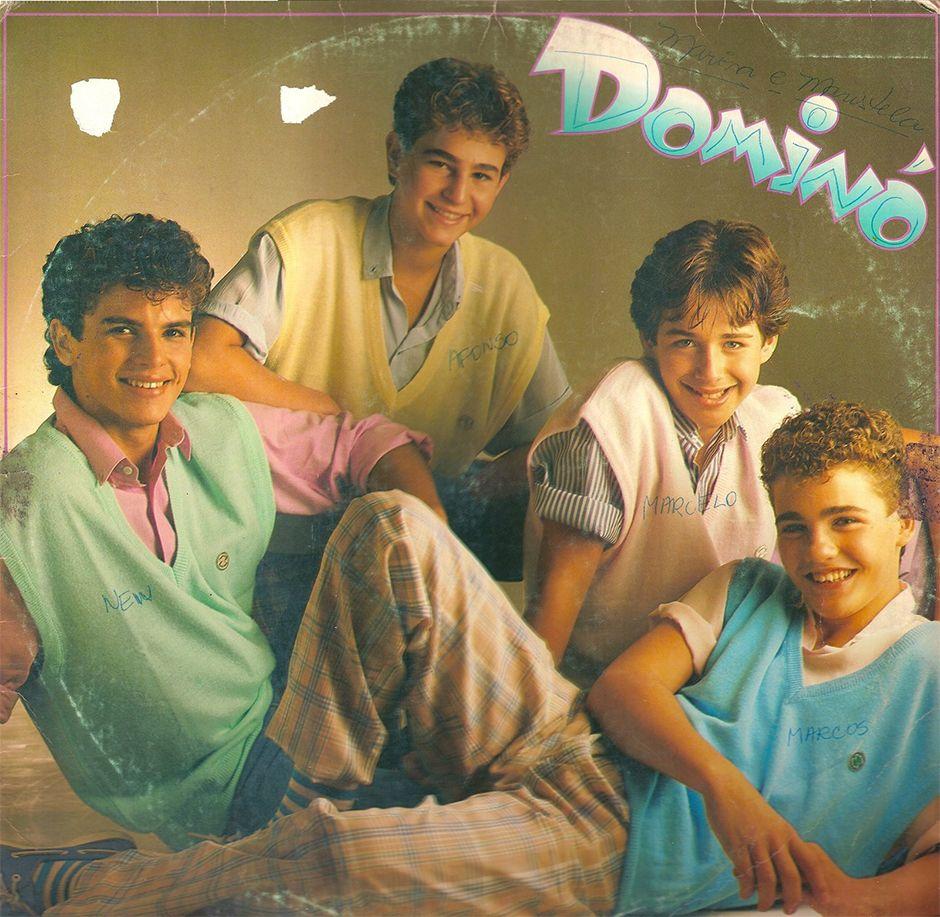 O grupo Dominó fez muito sucesso no Brasil
