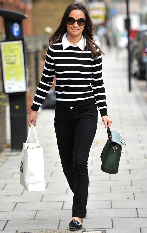 Pippa Middleton leaves Edwina Ibbotson Millinery after purchasing a fascinator London, England - 28.09.12 Featuring: Pippa Middleton Where: London, United Kingdom When: 28 Sep 2012 Credit: WENN