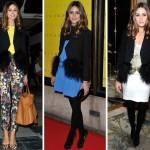 Olivia Palermo e as diferentes maneiras de usar o mesmo casaco
