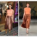 Solange Knowles com saia e blusa direto da passarela da estilista gaúcha