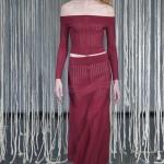 O modelo usado por Alicia na passarela da estilista em Londres
