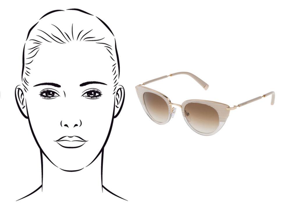 f116c1154 Qual modelo de óculos de sol é ideal para o seu formato de rosto ...