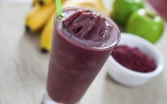 Acai berry smoothie higg in antioxidants