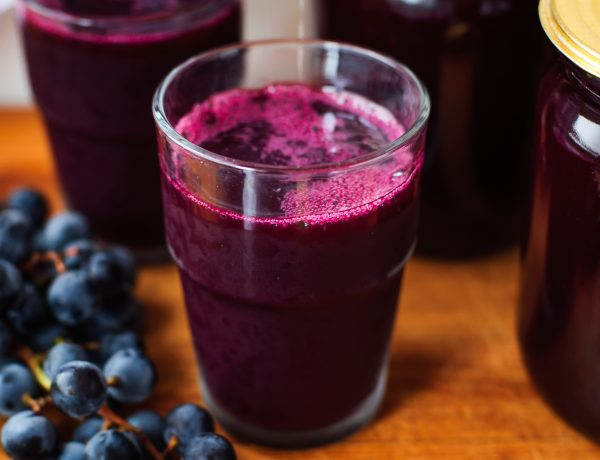 A Glass of Fresh Grape Juice, Grape Juice Canning